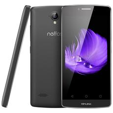 "Neffos C5L Grigio 8 GB 4G/LTE Dual Sim Display 4.5"" Slot Micro SD Fotocamera 8 Mpx Android Italia"