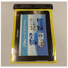 Samsung Galaxy Tab 2 10.1 Custodia Subacquea Waterproof Bag Gialla Wp-180