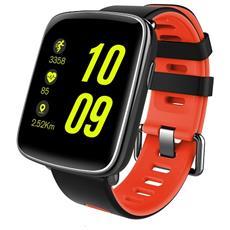 """Smartwatch GV68 Resistente all'acqua IP68 Display 1.54"""" Bluetooth Rosso- Europa"""