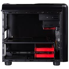 DARK KUBE, Cubo, PC, 1x 120 mm, ABS sintetico, SECC, Fondo, Micro-ATX, Mini-ITX