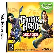 NDS - Guitar Hero On Tour Decades