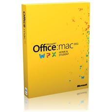 Office Home and Student 2011 Full per Mac 1 Installazione (Inglese)