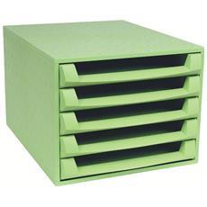 Cassettiera The Box Forever Verde