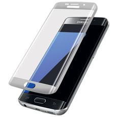 Pellicola In Vetro Temperato Samsung Galaxy S7 Edge G935 Protezione Completa Bordo Bianco Alta Qualità