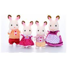Famiglia Conigli Cioccolato 03079 Personaggi