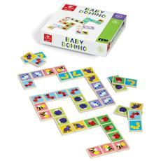 Baby Domino In Legno Di Alta Qualita *00449