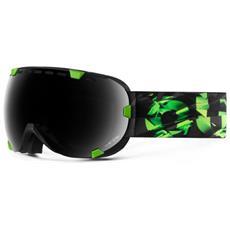 Maschera Snowboard Eyes Absinthe Verde Nero Taglia Unica