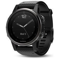 Orologio Fenix 5S GPS con Misurazione Frequenza Cardiaca al Polso Colore Nero