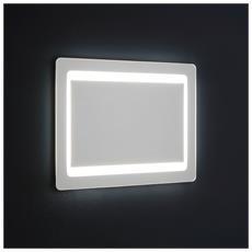 Specchio Retroilluminato A Led Cm. 60x80 Reversibile