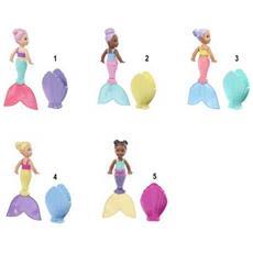 Barbie Dreamtopia, Mini Bambole Sirene, Assortimento, Un Modello Casuale, Giocattolo per Bambini 3 + anni, GHR67