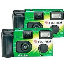Fotocamera Usa e Getta QuickSnap Flash integrato - 2 pz