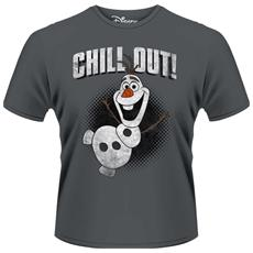 Frozen - Olaf Chill Out (T-Shirt Unisex Tg. S)