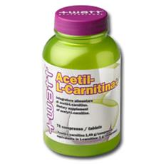 Acetillcarnitina 75 cpr