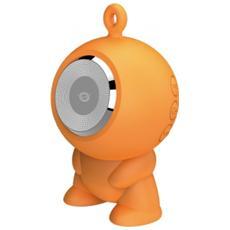 Altoparlante Speaker a ventosa Waterproof Bluetooth - Arancione