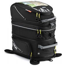Borsa Da Serbatoio Easy Bag 28+18lt Magnetica Trasformabile A Zaino Nero