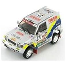 M096 Mitsubishi Pajero Evo Paris Dakar Modellino