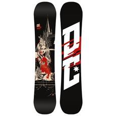 Tavola Snowboard Uomo Media Bliz Nero Rosso 150