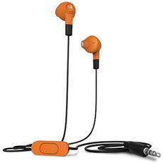 """89729N, Stereofonico, Arancione, Interno orecchio, Cablato, 3.5 mm (1/8"""") , Intraurale"""