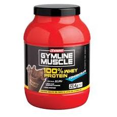 Gymline muscle 100% whey protein concentrate 700g cocco