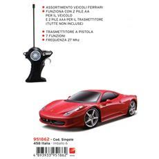 Ferrari 458 Italia Con Radiocomando 1:24