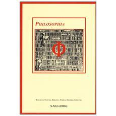 Philosophia. Bollettino della societ� italiana di storia della filosofia (2015) . Vol. 10