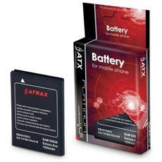 Batteria Compatibile 1600 Mah Atx Per Samsung S8600 Wave 3 - I8150 Galaxy W / S5690