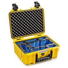 B&W Copter custodia Type 3000 / Y giallo con DJI Mavic Pro Inlay