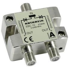 EBC 10 F 2xF Argento cavo di interfaccia e adattatore