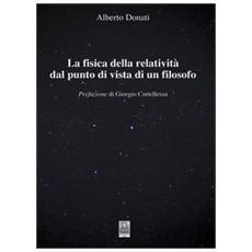 La fisica della relatività dal punto di vista di un filosofo
