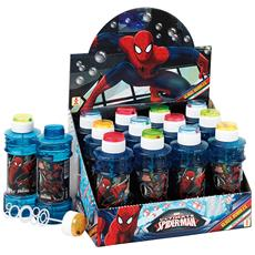 Bolle di sapone maxi Glass Spiderman (Conf. 12pz) 517000