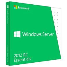 Windows Server 2012 R2 Essentials - Licenza e Supporti - OEM DVD 1 Server 25 Utenti Italiano