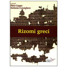 Rizomi greci. Atti del laboratorio mappe