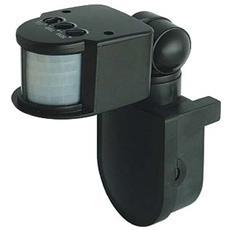 Sensore Accensione Lampade Con Crepuscolare Nero Se-1