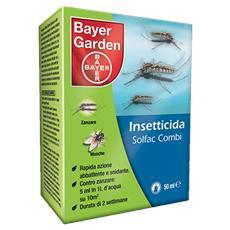 Solfac Combi X 50 Ml Anti Zanzare Tigre