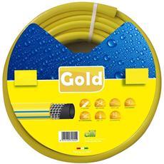 """D. 5/8""""x25 Mt Tubo Gold In Pvc Per Irrigazione / Giardino Orto"""