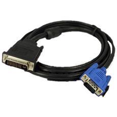 Cavo AV DVI / VGA, 5m, M / M, Nero