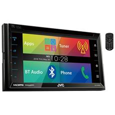 "Sintolettore KW-V620BT Lettore CD / DVD Display 6,2"" Bluetooth HDMI USB"