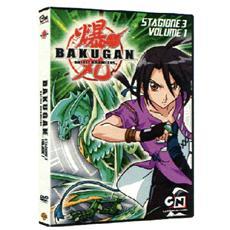 Dvd Bakugan - Stagione 03 #01