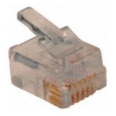 Conf 20pz Plug Rj45 Cat. 5e Utp