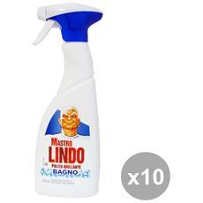 Set 10 Bagno Trigger 500 Ml. Detergent