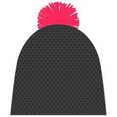 Cappello Uomo Leon Beanie Nero 58