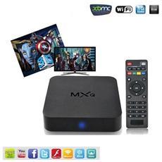 Mxq 4k*2k 1080p Smart Tv Box Xbmc H. 265 Android Quad Core Wifi 8gb Mini Pc