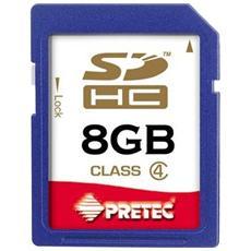 SDHC SecureDigital Card - 8GB, SDHC, 2.7 - 3.6, 24 x 32 x 2,1 mm