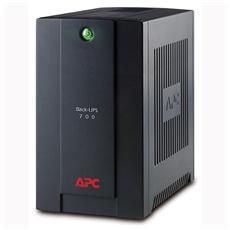 Gruppo di Continuità UPS 700 VA / 390W AVR 4 x Prese IEC (C13) / 1 x USB / 2 x RJ11