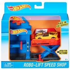 DWL02 - Hot Wheels - Playset Richiudibile - Robolift Speed Shop