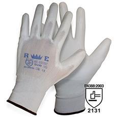 Guanto Redelguanto Con Spalmatura In Poliuretano Bianco Extra-touch (9 L) (9 0a30ae20040c