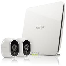 NETGEAR - Kit di 2 Telecamere Arlo WiFi e Sistema di...