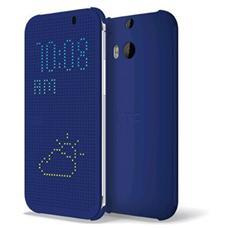 Flip Cover per Htc One M8 - Blu