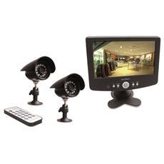 Videosorveglianza a Colori con Monitor e Dvr Integrato