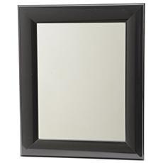 Specchio Nero Lucido 40x50 cm